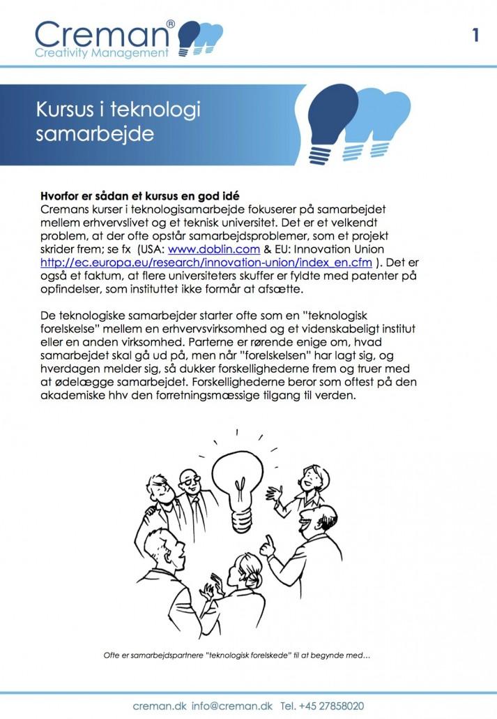 Kursus i teknologisamarbejde
